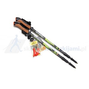 Kije Nordic Walking Gabel Carbon XT 3S 100 63-135cm