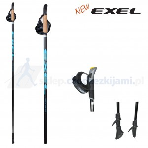 Kije Exel Nordic Walker QLS Black/Blue