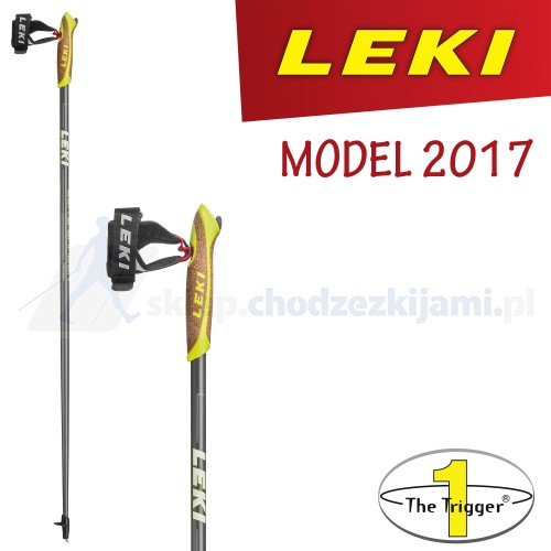 Kije nordic walking LEKI Elite Carbon 2017